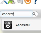 Concrete5 Softaculous search